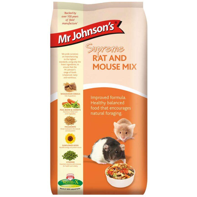 Mr. Johnson's Rottefoder og musefoder mix
